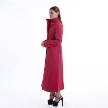 Gules ladies long cashmere coat