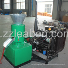 Diesel Engine Driven Flat Die Wood Pelletizer