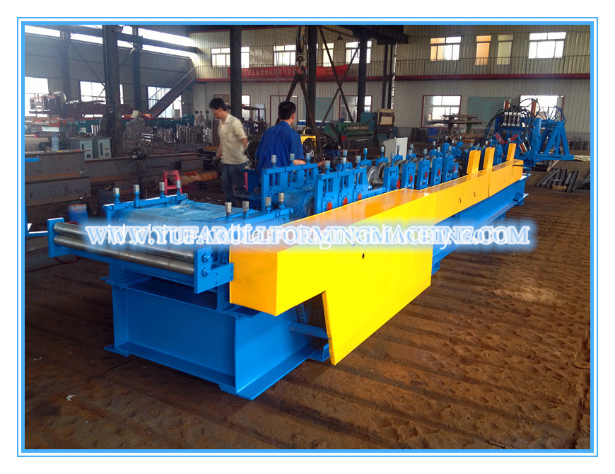 C&Z interchangeable roll forming machine