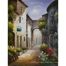Landschaft Mediterrane Gemälde auf Leinwand