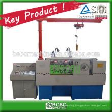 Automatic hydraulic thread rolling machine for screw rod
