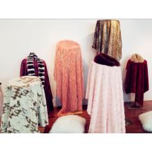 Jacquard Five Colors Faux Fur