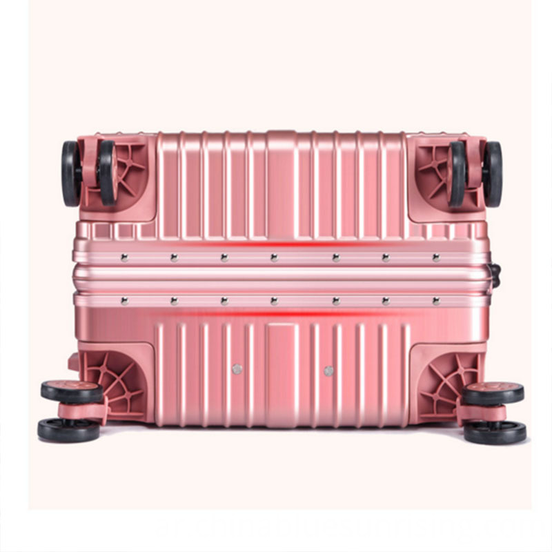 Fashionable travelling luggage suitcase