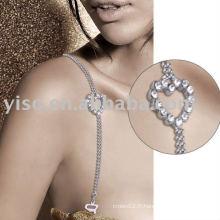 Bracelet sexy en strass pour coeur
