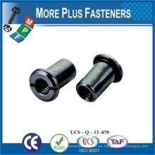 Hecho en Taiwán Hexágono Socket Tee Cabeza Pan Arandela Cabeza Truss Cabeza Hex Socket Ranurado Conjuntos Muebles Conector Tuerca