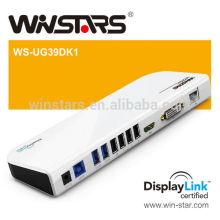 Estação de encaixe universal portátil 3.0 de Multi-tarefa. Hot plug, CE, FCC, ROHS