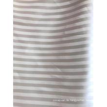 Jacquar-Dobby-Polyester-Stoff mit 1 cm Streifen