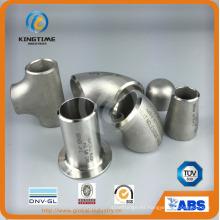 Instalación de tuberías Wp316 / 316L de Con. reductor de acero inoxidable (KT0128)