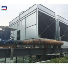 Tour de refroidissement ouverte en acier efficace élevée de 291 tonnes pour le refroidissement de l'eau de processus