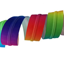 High Quality Wholesale Price New Design Colorful Nylon Rainbow Zippers
