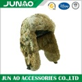 Wholesale rabbit fur hat with customized pattern shell
