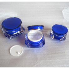 Diamond Shape Cream Jar With Double Cap J060H