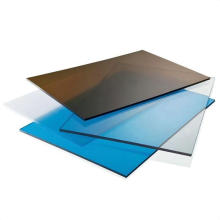 2021 lowest price  waterproofing high-impact transparent solid polycarbonate sheet for light box and public facilities