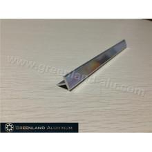 Bright Silver Aluminum T Shape Transition Tile Trim