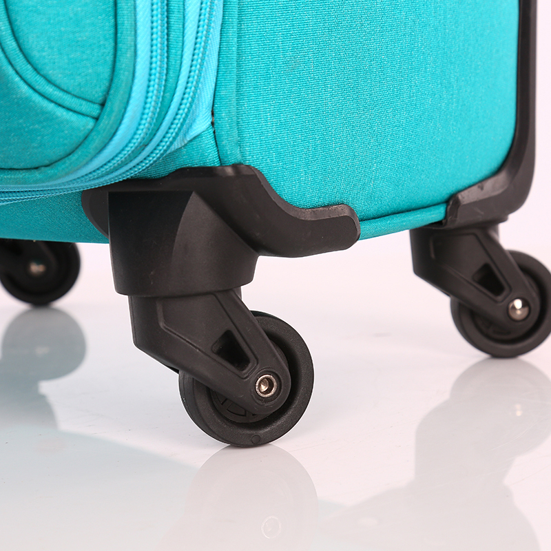 Oxford Fabric Aluminum Trolley Travel Luggage Suitcase6