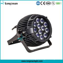 Outdoor 12 STÜCKE * 14 Watt Rgbaw-UV 6-in-1 LED Garten Dekoration Beleuchtung