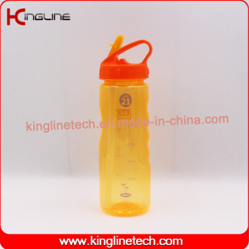 Flacon de boissons aquatiques en plastique de 700 ml avec BPA FREE (KL-7140)