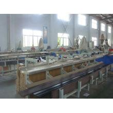 2014 nouveau WPC EXTRUSION MACHINE / PVC WPC Machine d'extrusion en bois composite en plastique machine