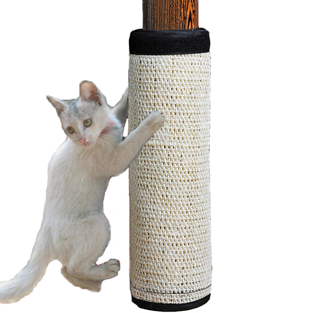Natural Sisal Hemp Cat Scratching Post Protecting Furniture Grinding Claws Cat Scratcher Toy Multifunctional Furniture Protector Jpg 640x640