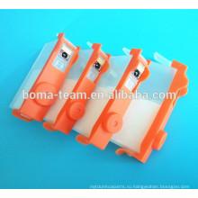 Оптовые поставки 364 чернила патрона refill для принтера HP 5520 5522 5524 5525 6525 6520 7510 7520 6510 с автоматический сброс чип