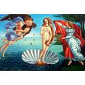 Wand-Dekor-Kunst Handgemachtes Bild Nackte Frauen-Malerei