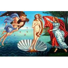 Decoración de la pared de arte de la imagen hecha a mano pintura desnuda de las mujeres