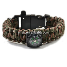paracord fire starter bracelets with fire starter Alibaba recommend