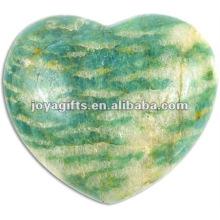 40MM Amazonite Stone Hearts