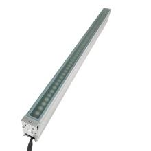 Luz LED linear embutida para paisagem ao ar livre