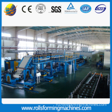 EPS sandwich panel roll forming machine PU coated roofing tile sandwich forming machine