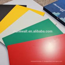Matériau de revêtement de façade pour murs-rideaux Feuille d'annonce Alucobond ACP