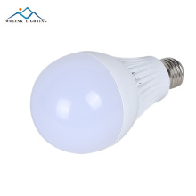 Hot sale warm white indoor smd2835 rechargeable emergency 5w 7w 9w 12w led blub lighting