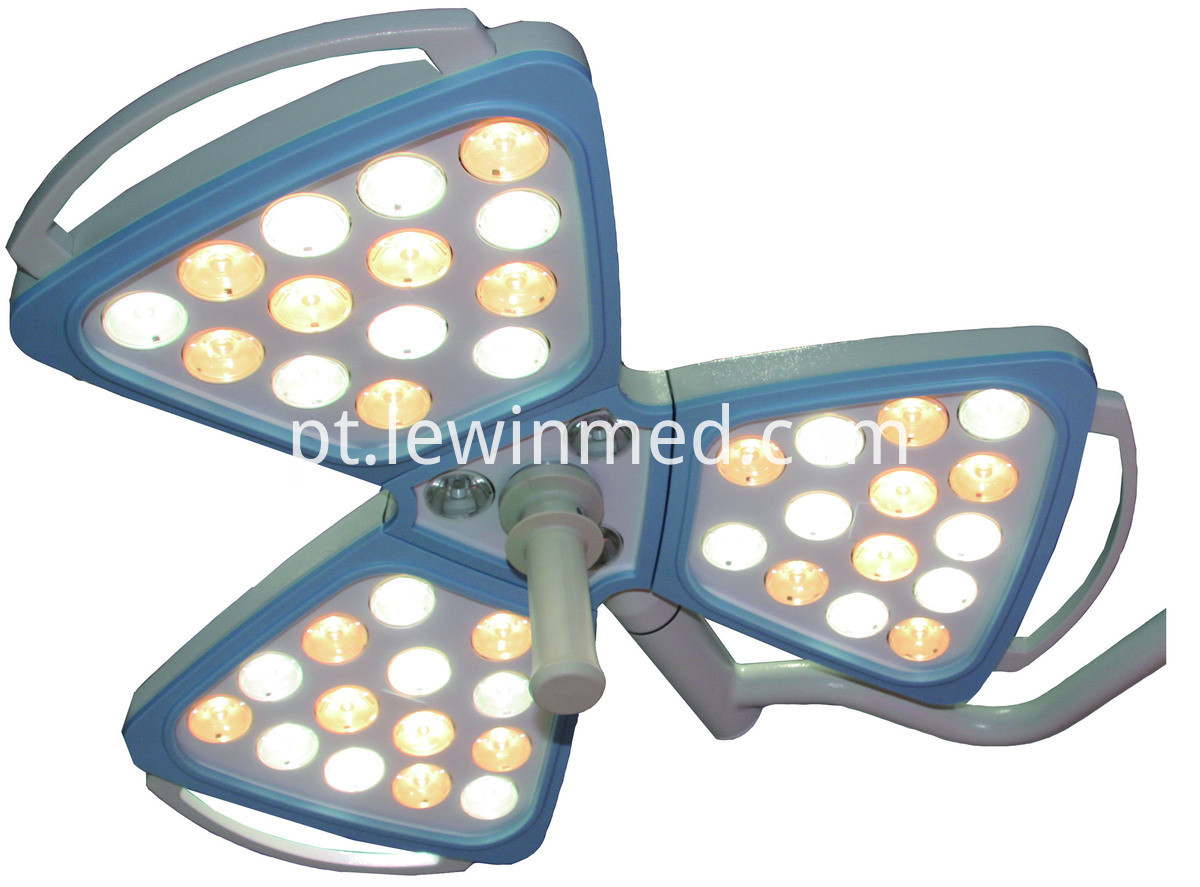 Hospital single arm ceiling light