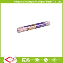 Rouleau de papier sulfurisé blanc naturel d'impression d'OEM 40GSM