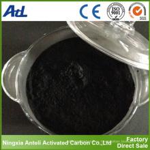 Carbón activado a base de madera del carbón de leña para la industria azucarera