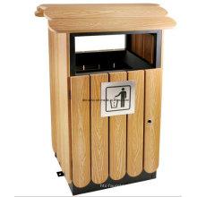 Caixote do lixo ao ar livre para Eco-Friendly Dl67
