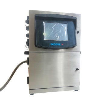 Impressora industrial a jato de tinta de caracteres pequenos para garrafa Fio Cabo Data de validade Codificação Impressão de logotipo Máquina de codificação CIJ