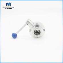 2-дюймовый стандартный быстродействующий регулирующий дроссельный клапан / зажимной дроссельный клапан