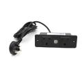 UK 2 sockets USB ports power strip