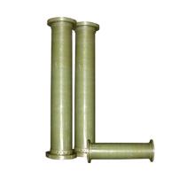 Tubo de fibra de vidrio de pultrusión reforzada de alta resistencia