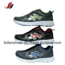 Mais recente design respirável homens calçados esportivos, calçados calçados esportivos, tênis de corrida por atacado