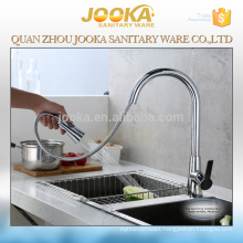 China high quality brass pull out kitchen faucet