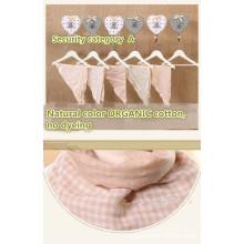 Organic Color Muslin Cloth Baby Trinangle Towel 66*45cm