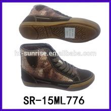 Nuevo alto estilo cuello de cuello zapatos de cuello alto para los hombres mens zapatos casual