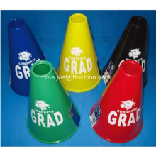 Promosi Imprinted Plastic Sports Cheering Megaphone