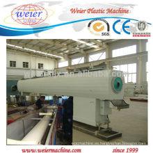 Máquina del extrusor del tubo del drenaje del suministro del gas / del agua de SJZ80 / 156 PVC
