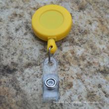 Einziehbare Plastikabzeichenrolle yoyo Kartenhalter
