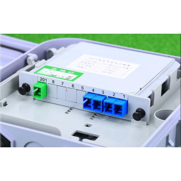 1 64 Fibre optique LGX Box Cassette Plug-in Type Splitter