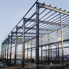 Gran edificio de estructura de acero de cacerola en todo el mundo