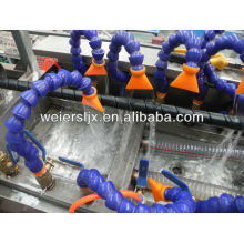 spiral wrapping band extruder